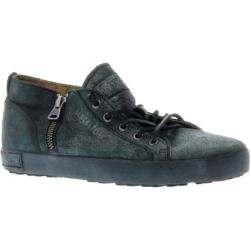 Women's Blackstone JL17 Zipper Sneaker Black Graphite Full Grain Leather