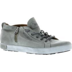 Women's Blackstone JL17 Zipper Sneaker Grey Metallic Full Grain Leather