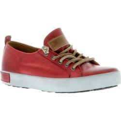Women's Blackstone JL21 Low Rise Sneaker Claret Red Full Grain Leather