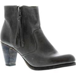 Women's Blackstone JL72 Ankle Boot Charcoal Full Grain Leather