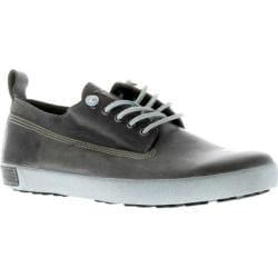 Men's Blackstone JM01 Leather Sneaker Charcoal Full Grain Leather