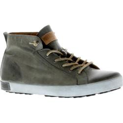 Men's Blackstone JM03 Mid Rise Sneaker Charcoal Full Grain Leather
