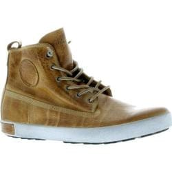 Men's Blackstone JM04 High Top Sneaker Rust Full Grain Leather
