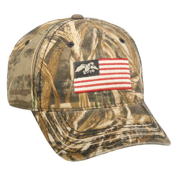 Duck Commander Flag Adjustable Hat