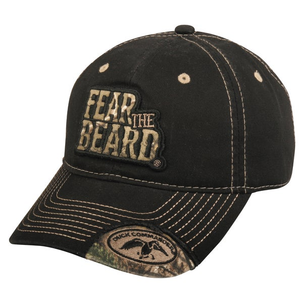 511fe1a9d56 Shop Duck Commander Fear the Beard Adjustable Hat - Free Shipping On ...