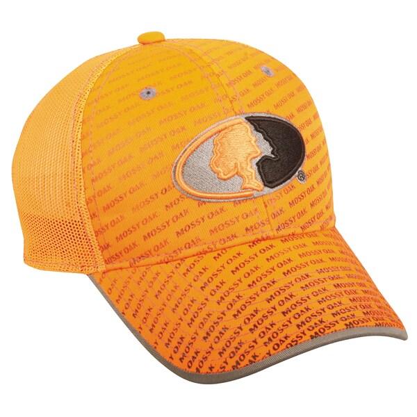 Mossy Oak Blaze Orange Adjustable Hat