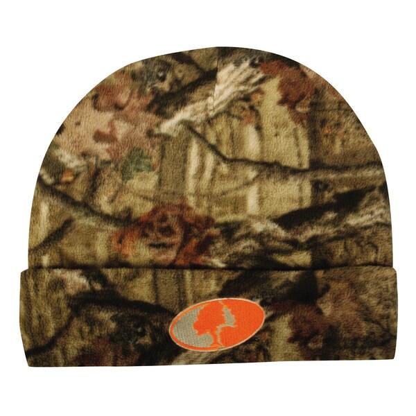 Mossy Oak Fleece Beanie Hat