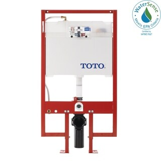 Toto WT151M#01 Cotton White In-Wall Tank System 1.6GPF & 0.9GPF