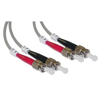 Offex ST / ST Multimode Duplex 50/125 Fiber Optic Cable