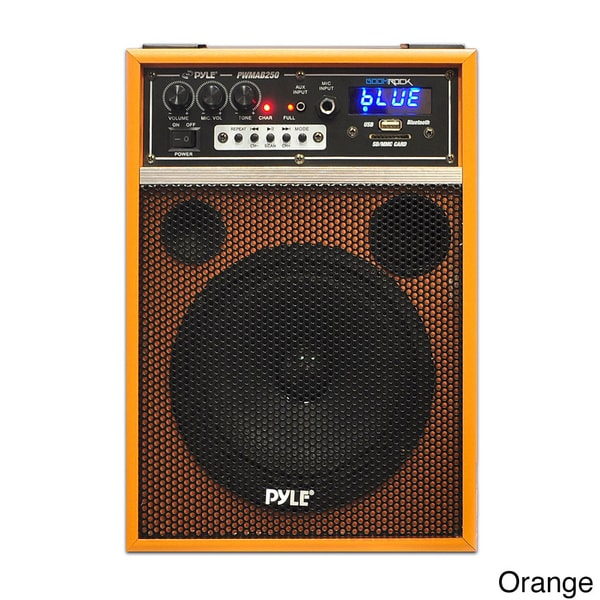 "300 W Amplifier 1/"" 6.50/"" Woofer Pyle Pwmab250bk Public Address System"
