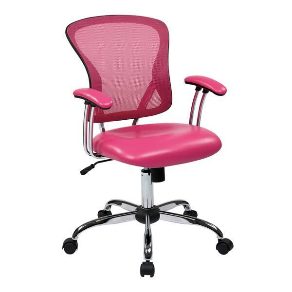 Shop Peyton Desk Chair With Mesh Adjustable Tilt Tension