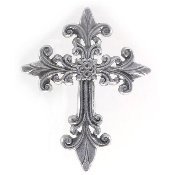 Handcrafted Elaborate Decorative Aluminum Wall Cross  , Handmade in India