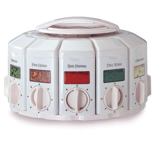 Kitchenart Auto Measure Spice White Carousel