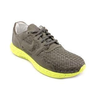 Nike Men's 'Lunar Flow Woven Lth Tz' Leather Athletic Shoe