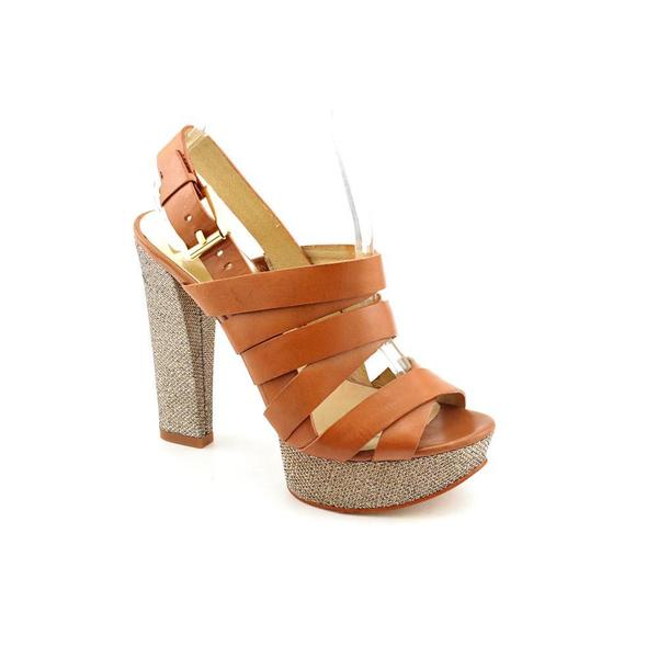 3e66bbe29bd Shop Michael Kors Women s  Faye  Velvet Sandals - Free Shipping ...