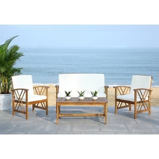 Buy Teak Outdoor Sofas Chairs Sectionals Online At Overstock