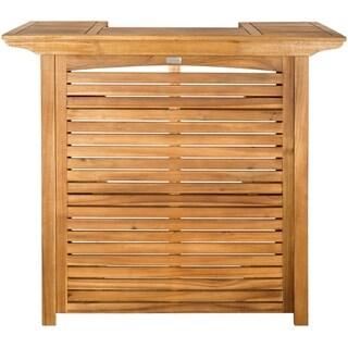 """Safavieh Monterey Brown Acacia Bar Table - 27.2"""" x 46.1"""" x 42.1"""""""