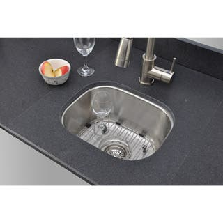 Kitchen Sinks For Less Less than 18 kitchen sinks for less overstock wells sinkware 18 gauge single bowl undermount stainless steel kitchen sink workwithnaturefo