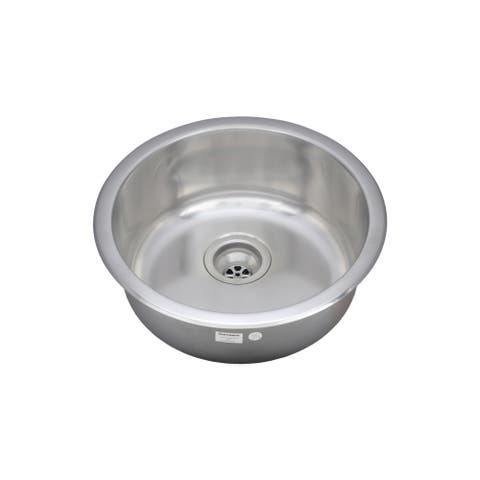 Wells Sinkware 19-inch Undermount Single Bowl 18-gauge Stainless Steel Kitchen/ Bar Sink