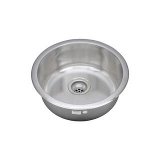 Wells Sinkware 19-inch Undermount Single Bowl 18-gauge Stainless Steel Kitchen/ Bar Sink