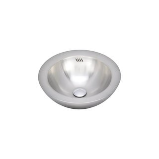 Wells Sinkware 20 Gauge Single Bowl Above Counter Stainless Steel Kitchen/ Bar Sink Package