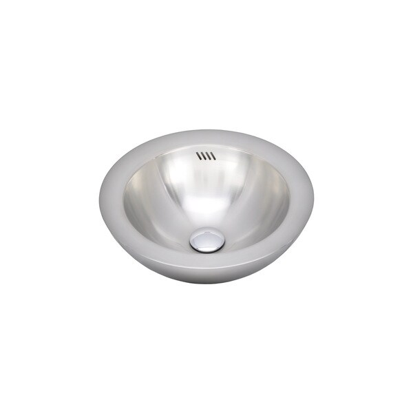 Wells Sinkware 20 Gauge Single Bowl Above Counter Stainless Steel Kitchen/ Bar Sink Package