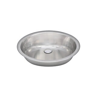 Wells Sinkware 20 Gauge Single Bowl Undermount Stainless Steel Kitchen/ Bar Sink Package