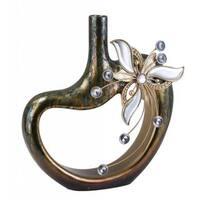 Florria 16-inch Decorative Cut-out Vase
