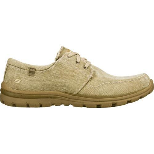 Men's Skechers Relaxed Fit Superior Elvin Natural - Thumbnail 1