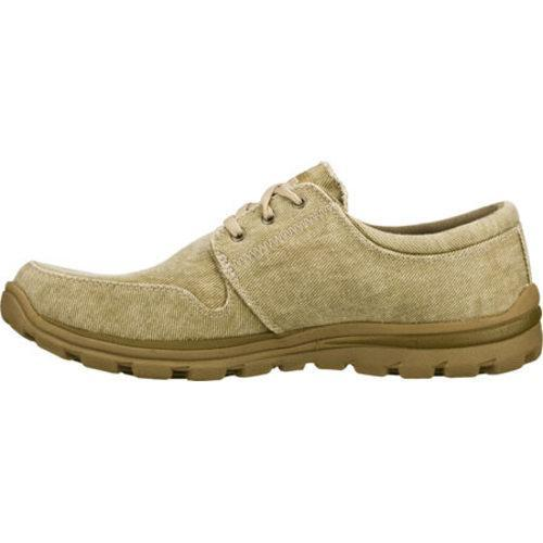 Men's Skechers Relaxed Fit Superior Elvin Natural - Thumbnail 2