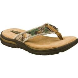 Men's Skechers Relaxed Fit Supreme Cayuga Camouflage | Shopping The Best Deals on Sandals