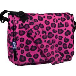 Wildkin Kickstart Pink Leopard Messenger Bag