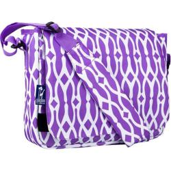 Wildkin Kickstart Wishbone Purple Messenger Bag