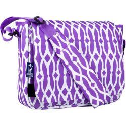 Wildkin Kickstart Bone Purple Messenger Bag