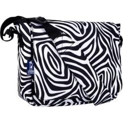 Wildkin Zebra Kickstart Messenger Bag