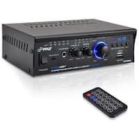 PyleHome Mini Blue PCAU48BT Amplifier - 2 Channel