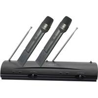 PylePro Professional Dual VHF Wireless Handheld Microphone System