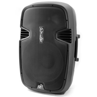 Pyle PPHP1247UIB Bluetooth 1200 Watt 12'' PA Speaker System, 2-Way Full Range, Class-D, iPod Dock, USB Flash/SD Record Function