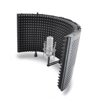 Mic Isolation Shield with Sound Dampening Foam