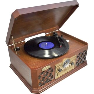 Pyle PTCD4BT Record/CD/Cassette Turntable