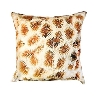 Coral Reef Outdoor Pillow, Handmade in India