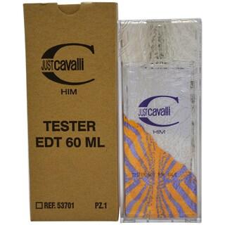 Roberto Cavalli Just Cavalli Men's 2-ounce Eau de Toilette Spray (Tester)
