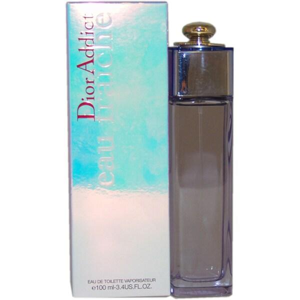 Christian Dior Addict Eau Fraiche Women's 3 4-ounce Eau de Toilette Spray