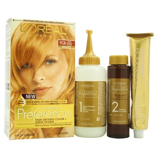 L'Oreal Superior Preference 9GR Light Reddish Blonde (Warmer)