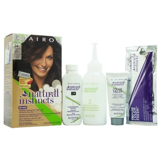 Clairol Natural Instincts Clove Medium Cool Brown 24 Hair Color