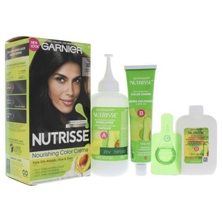 Garnier Nutrisse Permanent 30 Darkest Brown Sweet Cola Hair Color