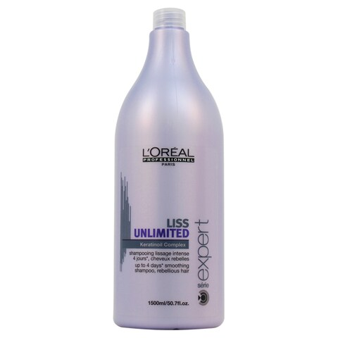 L'Oreal Professional Liss Unlimited Keratinoil Complex 50.7-ounce Shampoo