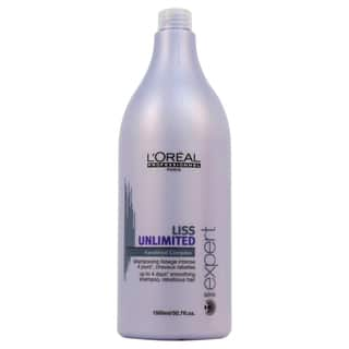 L'Oreal Professional Liss Unlimited Keratinoil Complex 50.7-ounce Shampoo|https://ak1.ostkcdn.com/images/products/9006489/P16209643.jpg?impolicy=medium