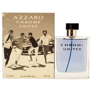 Loris Azzaro Men's Chrome United 3.4-ounce Eau de Toilette Spray