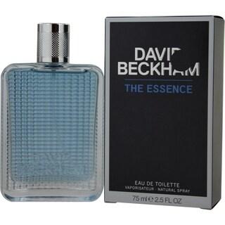 David Beckham The Essence Men's 2.5-ounce Eau de Toilette Spray